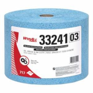 412-33241 Kimtech Prep* Kimtex* Wiper, Blue, 9.8 in Wide, 13.4 in Length, Roll
