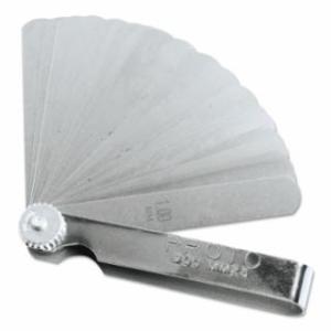 577-00MM25 25 Blade Metric Feeler Gauge Set, 3-5/16 in L, Metric
