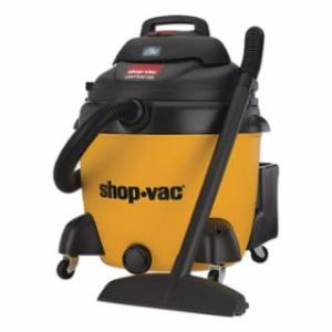 677-9627310 Pk HP Contractor Wet Dry Vacuums, 18 gal, 6.5 hp, Accessories Included