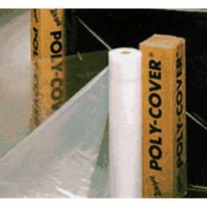 795-6X6-CC Poly-Cover Plaic Sheets, 6 Mil, 6 x 200, Clr