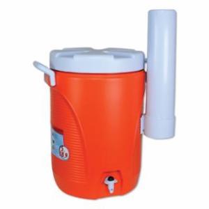 325-1841106 Water Coolers, 5 gal, Cup Holder, Orange