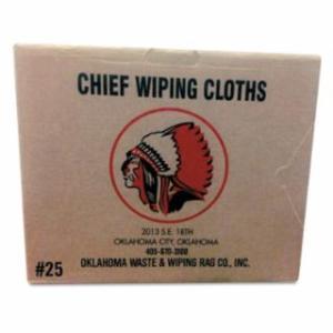 552-101-50 Knit T-Shirt Polo Cotton Wiping Rags, White, 50 lb Box
