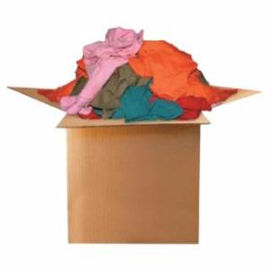 552-118-50 T-Shirt Wiping Rags, Assorted