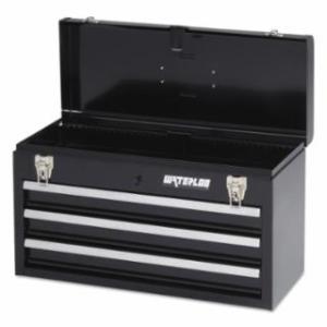 797-MP-2012BK Portable Ches, 20.535 in x 8.56 in x 9.56 in, 1,275 cu in, Black