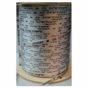 811-64P2500-03000-0 Slick Tapes, 2,500 lb p., 3,000 ft, Polyeer, White