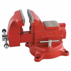 825-28816 Utility Bench Vise, 8 in Jaw Width, 4-1/2 in Throat Depth, 360° Swivel