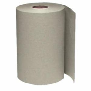 859-1180 Non-Perforated Hardwound Roll Towels, Brown, 600 ft. roll