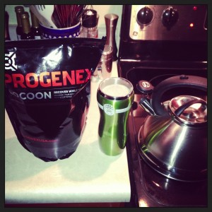 Progenex Cocoon and hot water