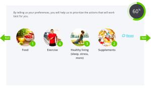 Preferences for InsideTracker