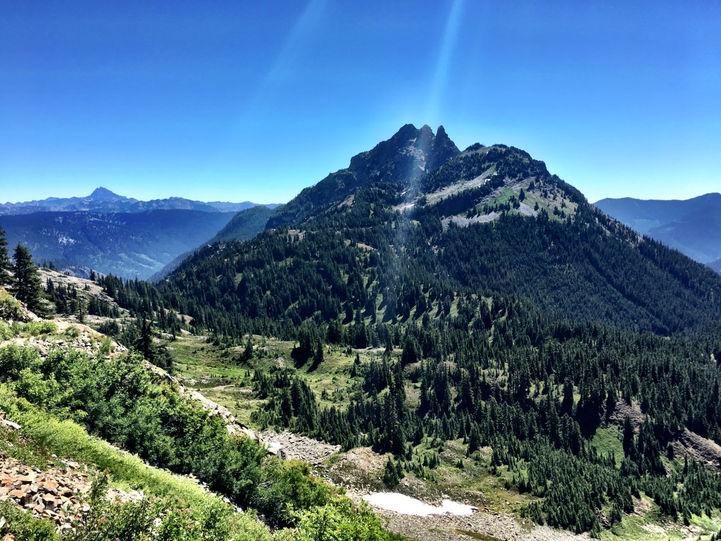 Hiking UP Stevens Pass to Snoqualmie Pass