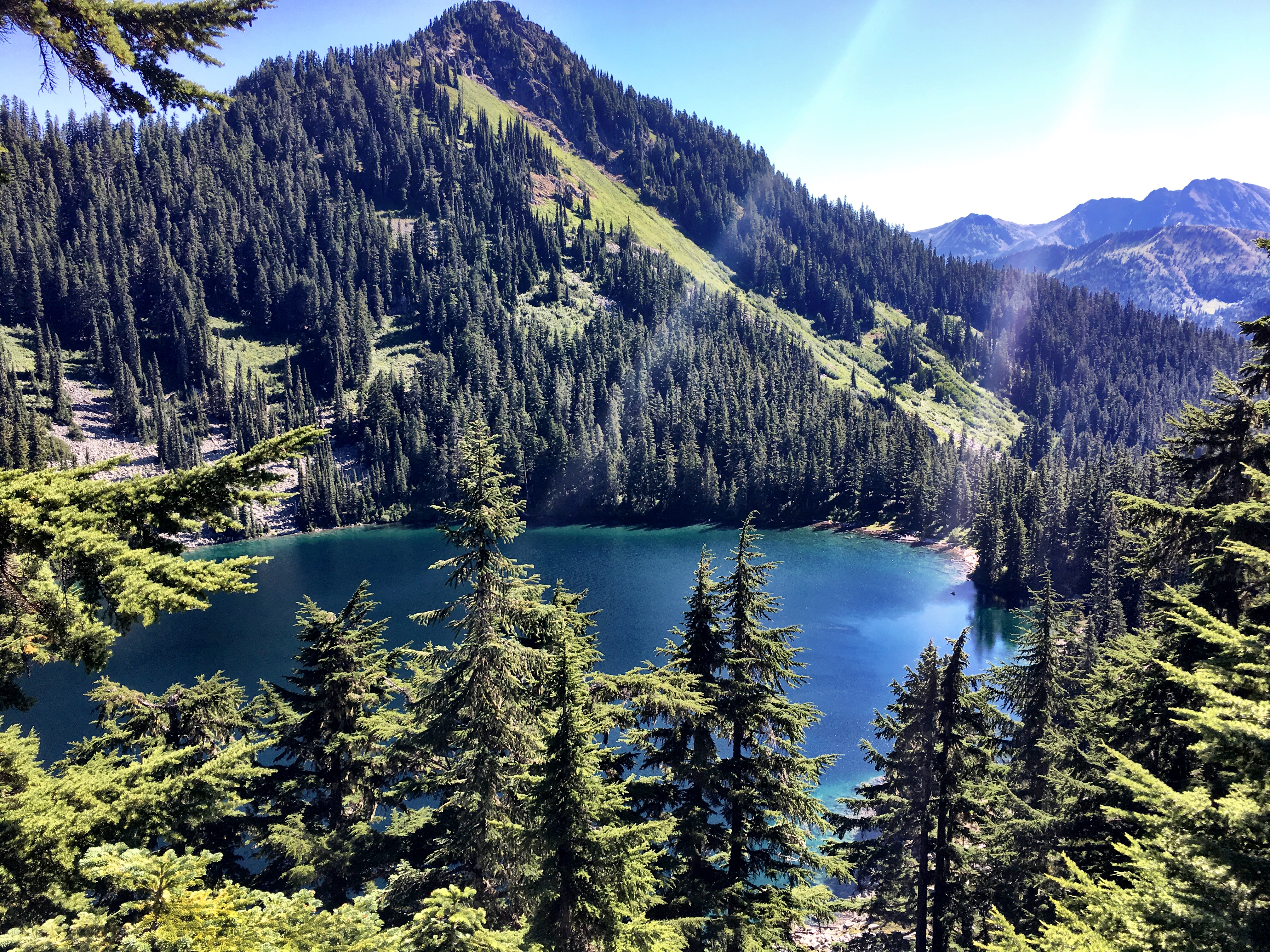 Surprise Lake on Stevens Pass to Snoqualmie Pass adventure
