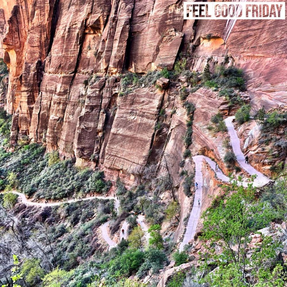 Feel Good Friday – Blue Light Blocking – Angels Landing – Instagram