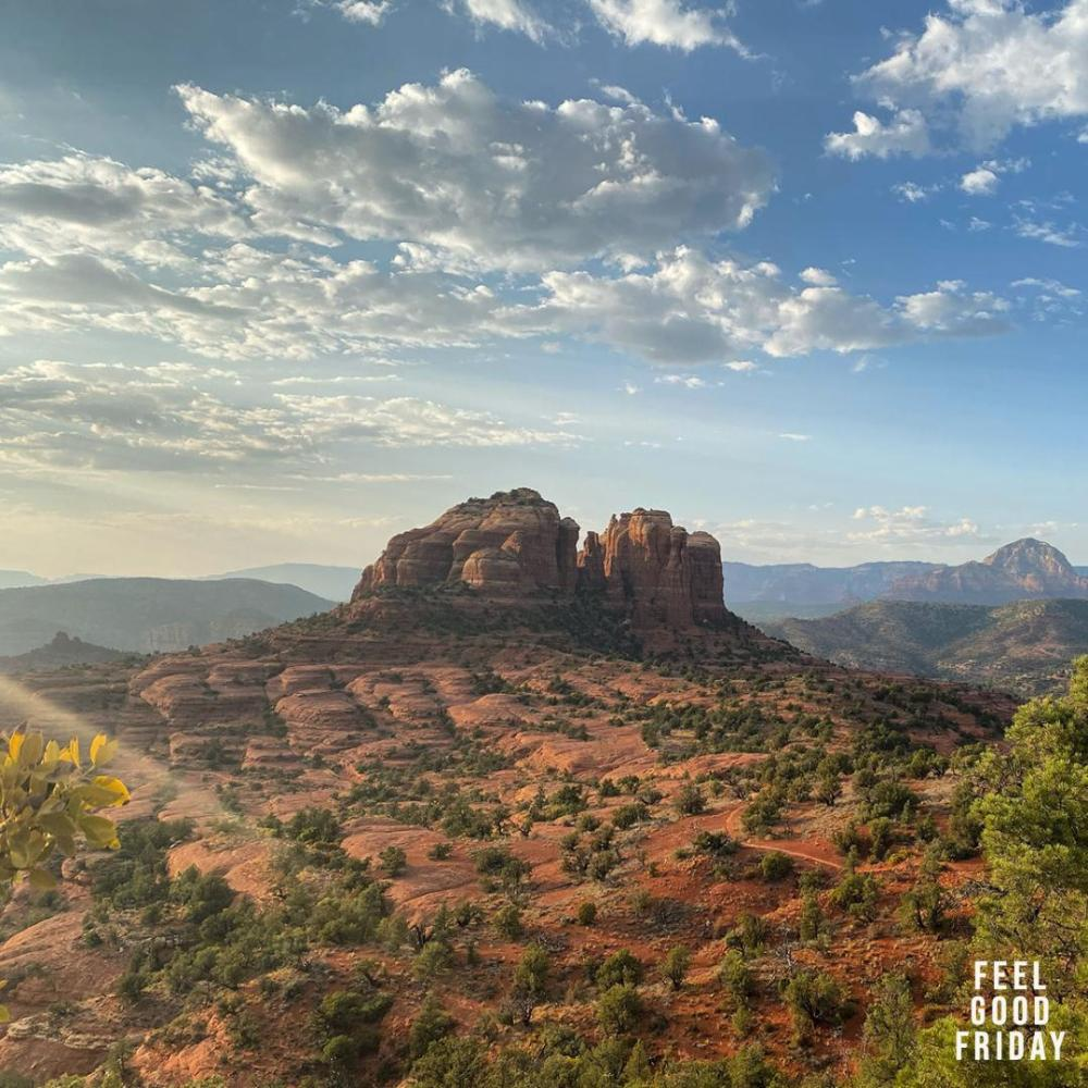 Feel Good Friday - GamePass - Hiline Trail by Joe Bauer in Sedona AZ