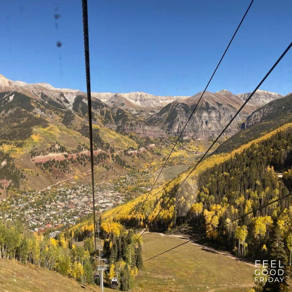 Feel Good Friday - Ghost Towns - Huppy Bars - And More by Joe Bauer of all around joe in the Fall Colors of Telluride CO
