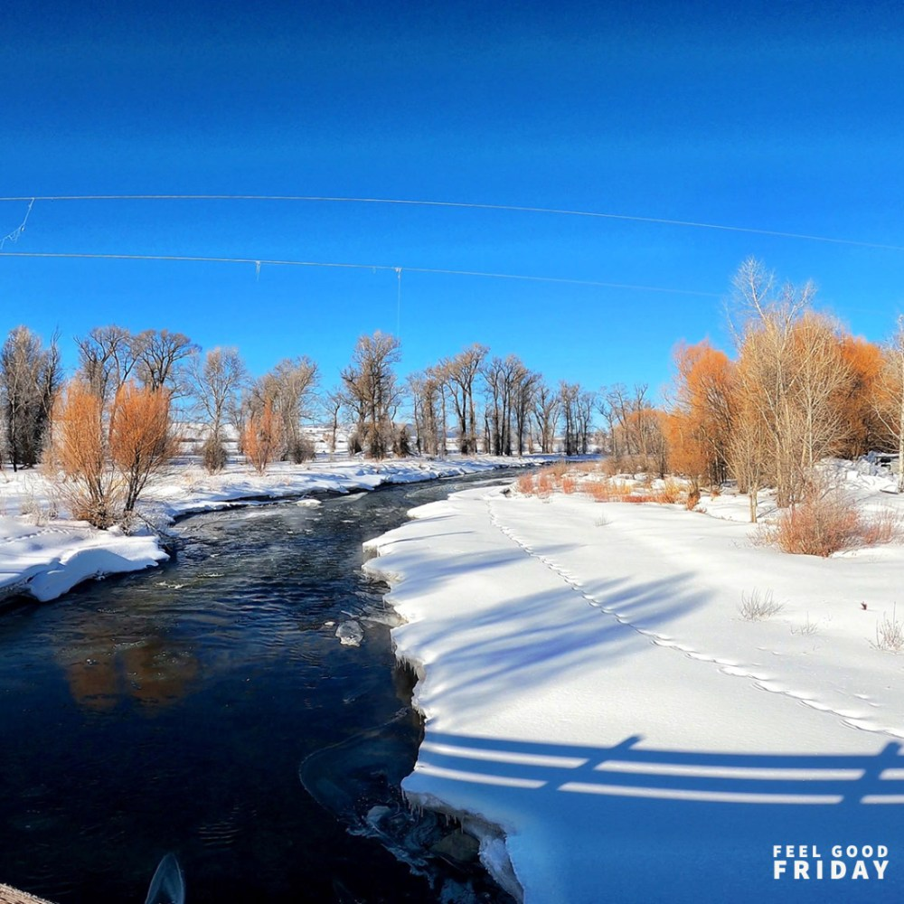 Feel Good Friday - GoPro - Muesli - Smiles from a winding river in Steamboat Springs KOA