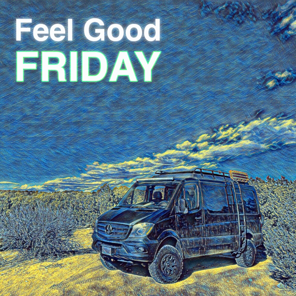 Feel Good Friday - Vernal Utah - Happiness is Infectious - Plann from The Vantastic Life