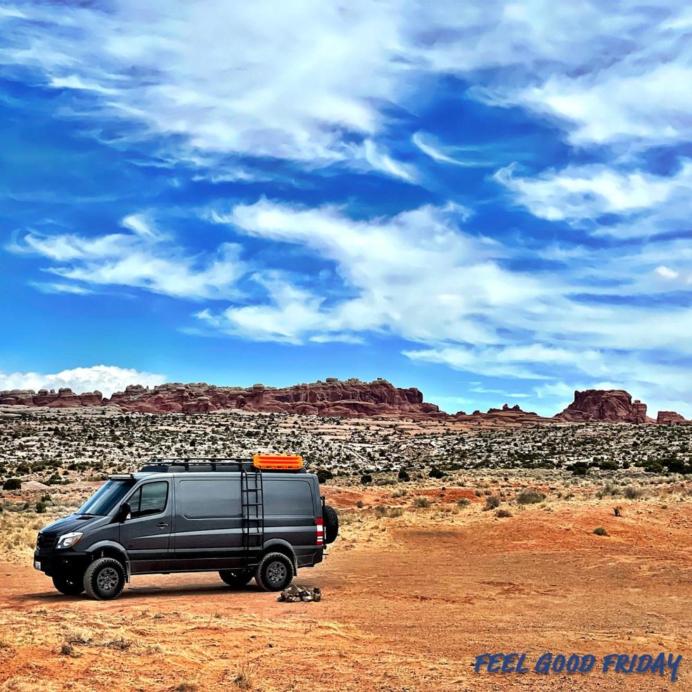 Feel Good Friday - CrossFit Games - Captain Ahab - Trail Run Fail van life in Moab