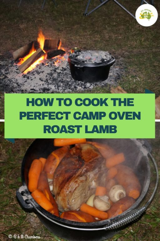 Camp Oven Roast Lamb