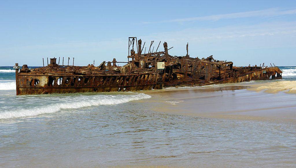 Maheno Wreck 2007