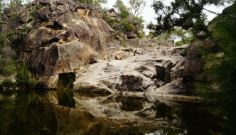 Coomba Falls is about an hours drive from Crows Nest