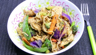 BBQ Chicken Stir Fry – Easy Camp Cooking