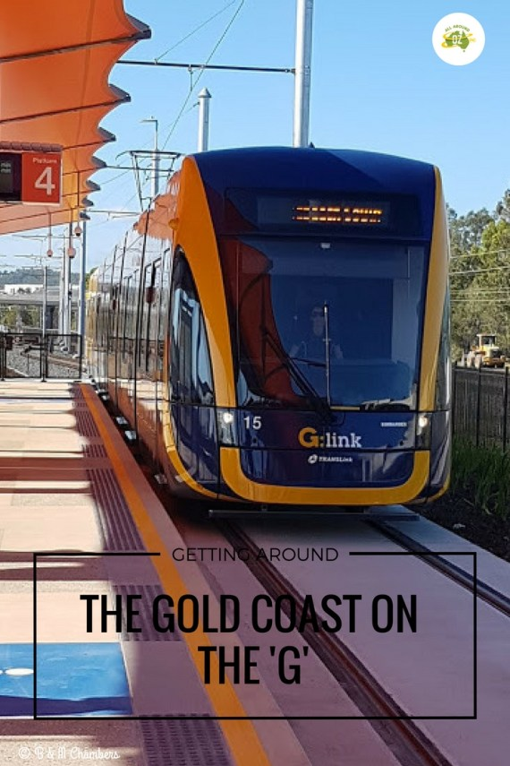 Getting around the Gold Coast on the G is so easy and cost effective too.