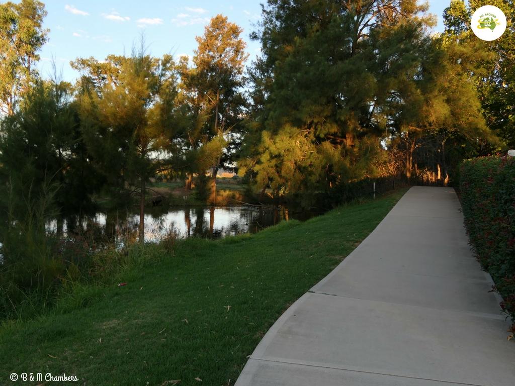 Mudgee Riverside Caravan and Tourist Park River Walk
