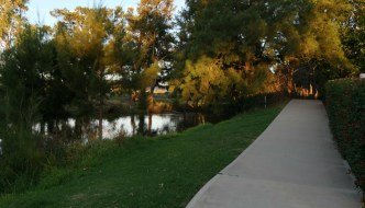 Mudgee Riverside Caravan and Tourist Park River Walk