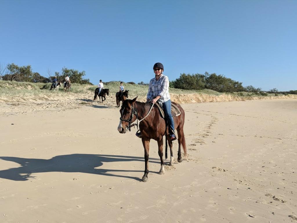 Beach Horse Riding at Noosa North Shore - Phoebe