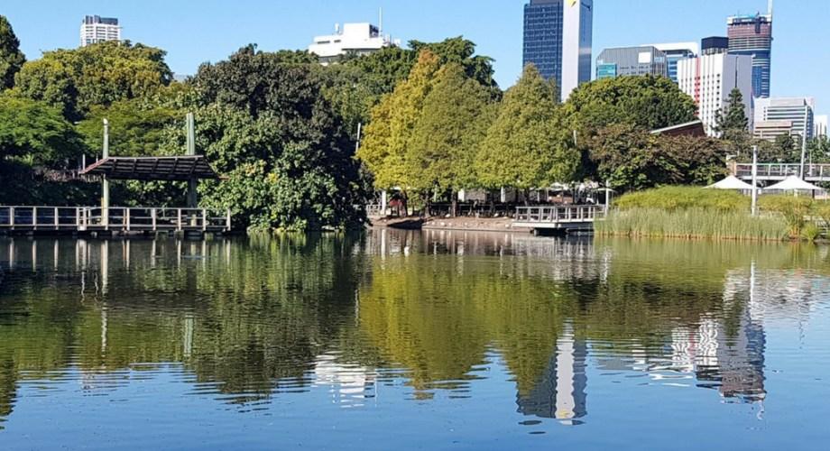 Roma Street Parklands Lake