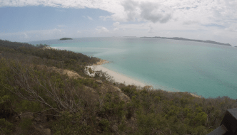 A Snorkeling Day trip - Hill Inlet Lookout