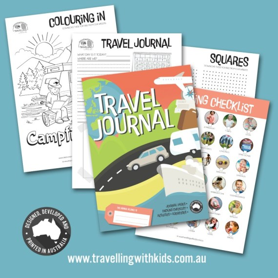 Christmas Gift Ideas for Caravanners - Travel Journal