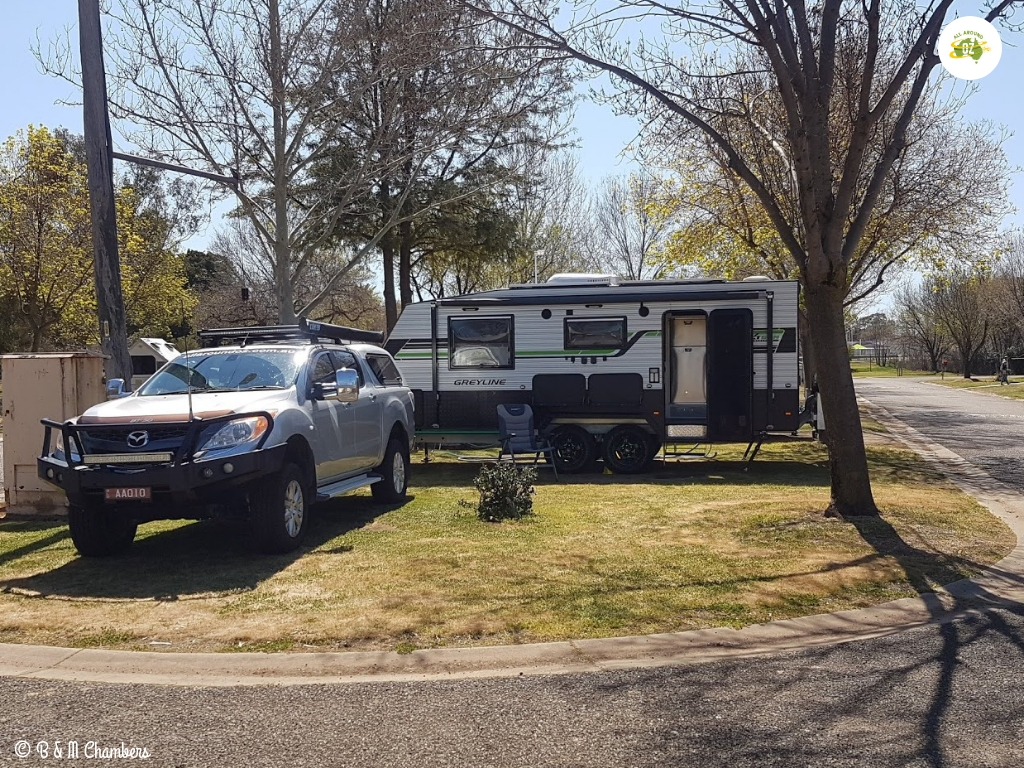 Our First Month on the Road - Cootamundra Caravan Park