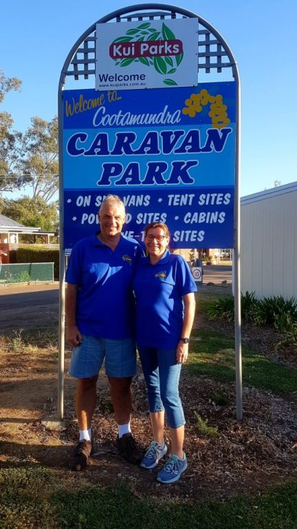 Our Second Month on the Road - Relief Caravan Park Managers