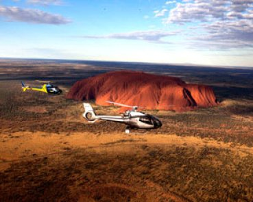 Helicopter Flight over Uluru - Bucket List Tick