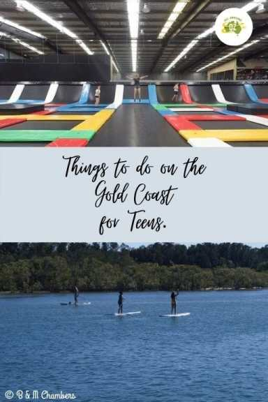 Things to do on the Gold Coast for Teens