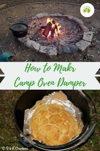 How to Make Camp Oven Damper