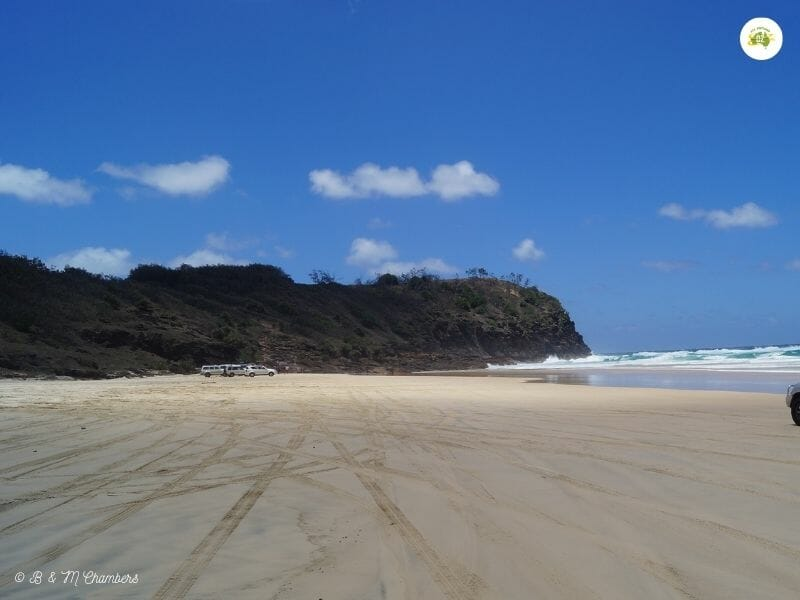 Exploring North East Fraser Island - Indian Head