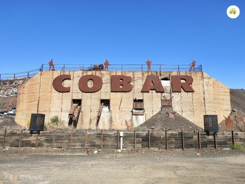Cobar, NSW - Welcome Sign