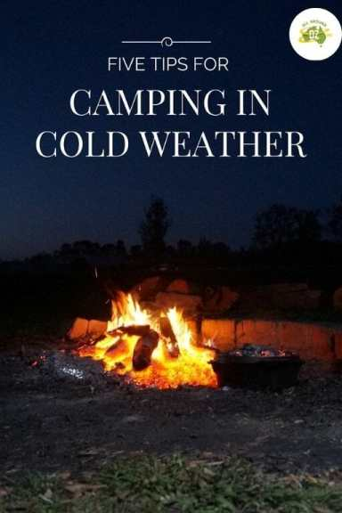 Five Tips for Camping in Cold Weather