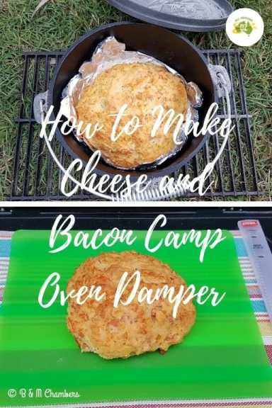 How to Make Cheese and Bacon Camp Oven Damper