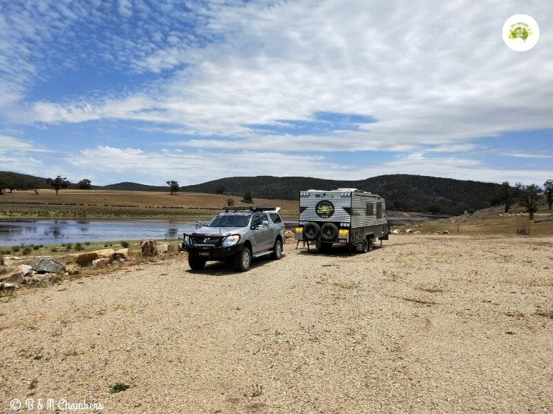 free camping at Bethungra Dam