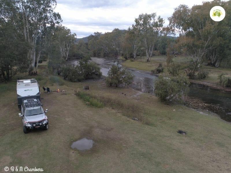 Free Camping at Bingara, NSW