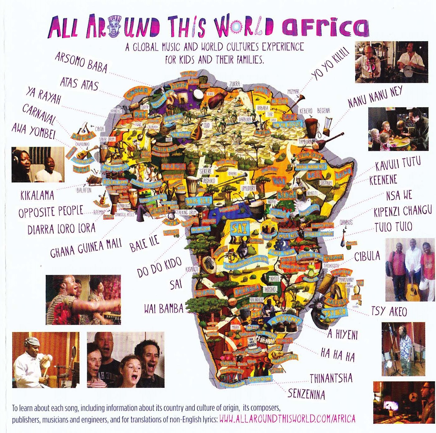 African Songs For Kids What You Teach Your Kids Matters