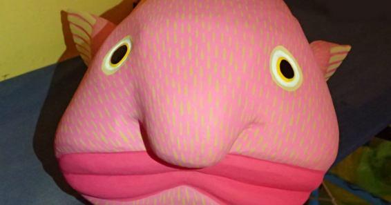 ブロブフィッシュ(深海魚)のアレブリヘ