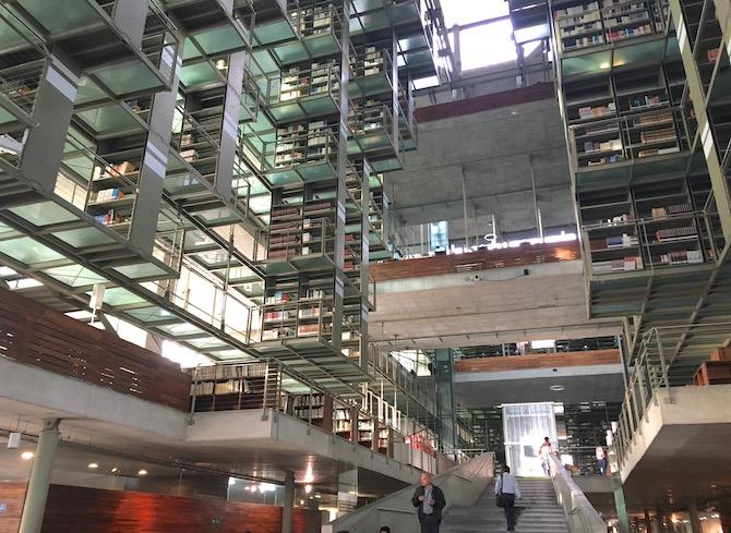 ヴァスコンセロス図書館(空中図書館)メキシコシティ3