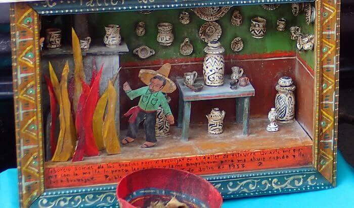 エクスボト(レタブロ)メキシコシティ12