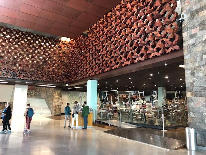 メキシコシティの国立人類学博物館4