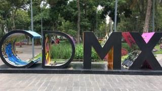 メキシコシティのCDMXサイン