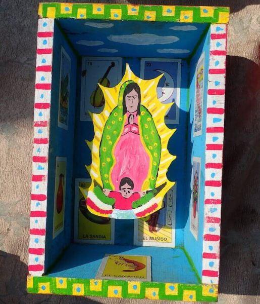 手作りエクスボト(メキシコシティ)グアダルーペ